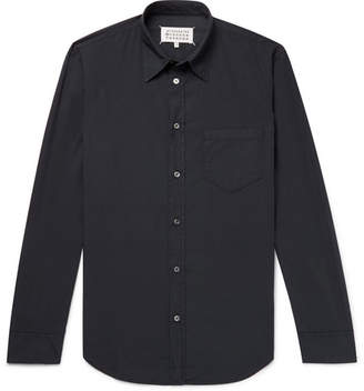 Maison Margiela Slim-Fit Garment-Dyed Cotton Shirt