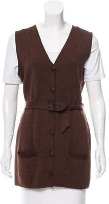 Burberry Knit Wool Vest