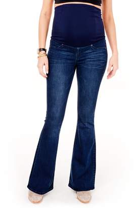 Ingrid & Isabel R) Gracie Flare Maternity Jeans