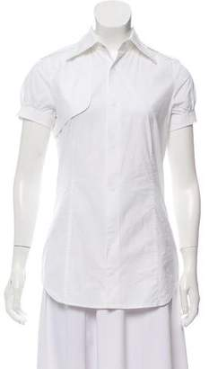 DSQUARED2 Collared Short Sleeve Top