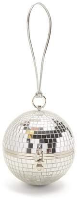 Dolce & Gabbana Disco Ball Minaudiere Clutch - Womens - Silver