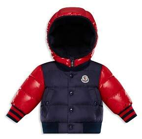 Moncler Boys' Monieux Contrast Down Bomber Jacket - Baby