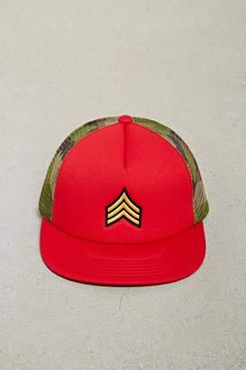 Forever 21 Men Camo Trucker Hat