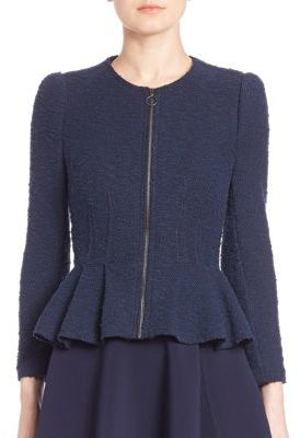 Rebecca Taylor Boucle Tweed Jacket $450 thestylecure.com