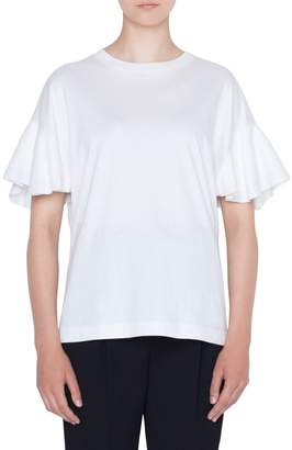 Akris Punto Layered Sleeve Tee