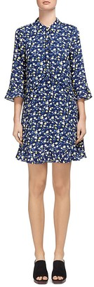 Whistles Bell Flower-Print Shirt Dress $270 thestylecure.com