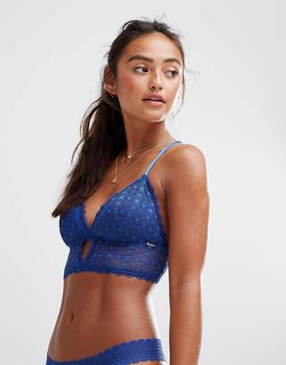 Pepe Jeans lace bra with racer back