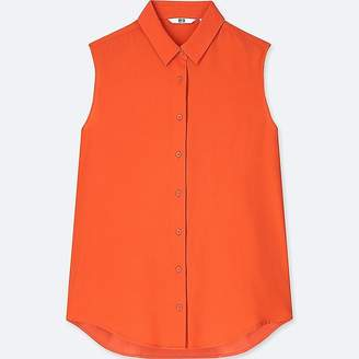 Uniqlo Women's Rayon Sleeveless Blouse
