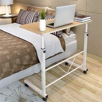 Ktaxon Laptop Desk Height Adjustable Rolling Notebook Sofa Bedside Sofa Table Stand