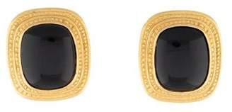 Valentino Resin Clip-On Earrings