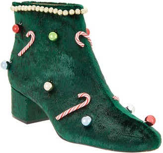 Katy Perry Novelty Garland Ankle Boots - The Caine