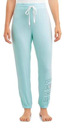 Secret Treasures Women's and Women's Plus Jogger AQUA