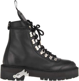88088f4e15a Black Leather Hiking Boot - ShopStyle