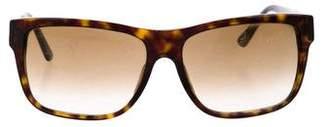 Versace Square Gradient Sunglasses