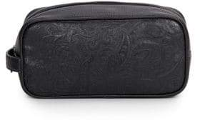 Robert Graham Richard Paisley Embossed Toiletry Bag