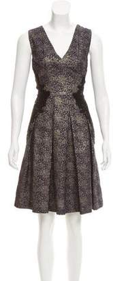 Sophie Theallet Brocade Silk Dress