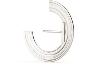 Aka Jewellery Orbit Small Radius Lobe Cuff Earrings