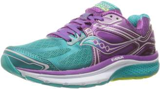 Saucony Women's Omni 15 Running Shoes, Teal/Purple