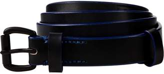 Scotch & Soda Leather Belt With Contrast