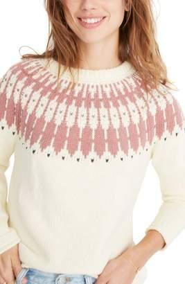 Madewell Keaton Fair Isle Sweater