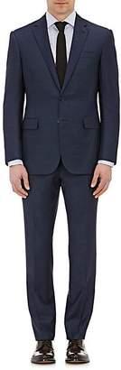 Ralph Lauren Purple Label Men's Anthony Wool Sharkskin Two-Button Suit - Navy