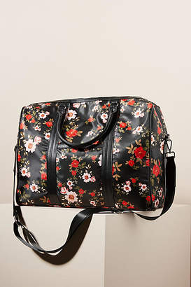 Anthropologie Gwendolyn Structured Weekender Bag