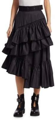 3.1 Phillip Lim Multi Layered Flamenco Skirt