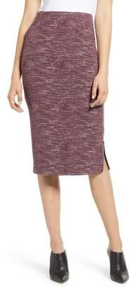 4b57220cbee Halogen Side Zip Ponte Pencil Skirt (Regular   Petite)