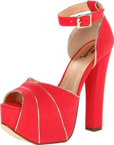 Luichiny Women's Lovee Dovee Platform Sandal
