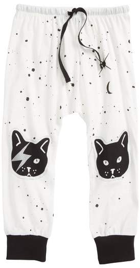PLASTIC JUS Space Cat Jogger Pants