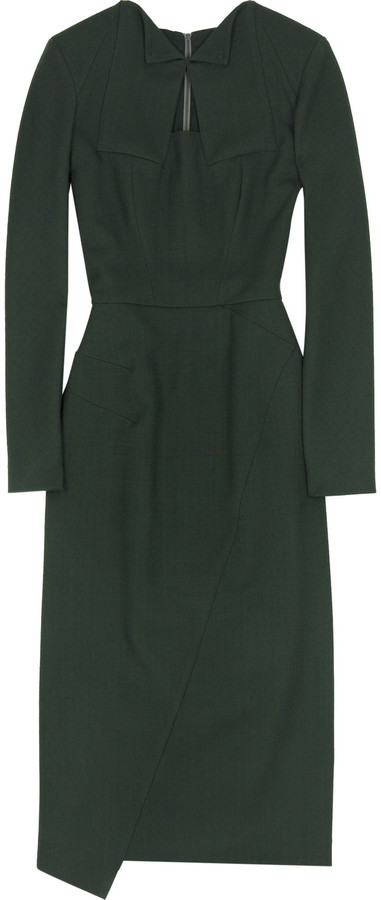 RM by Roland Mouret Anvers fitted dress