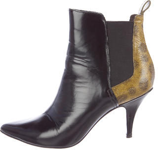 3.1 Phillip Lim3.1 Phillip Lim Leather Pointed-Toe Ankle Boots