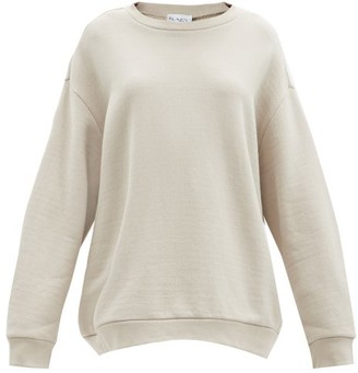 Raey Crew Neck Japanese Jersey Sweatshirt - Womens - Grey