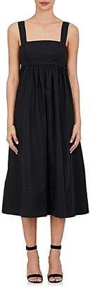 Barneys New York Women's Cotton Poplin Midi-Dress $295 thestylecure.com