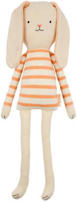 Meri Meri Small Coral Stripe Bunny Toy
