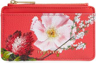 0ecab2c1a2 Ted Baker Berry Sundae Print Leather Card Case