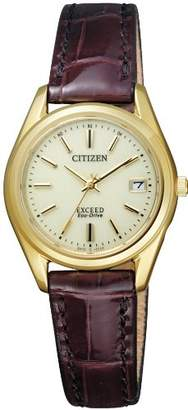 [シチズン]CITIZEN 腕時計 EXCEED エクシード Eco-Drive エコ・ドライブ 電波時計 ペアモデル EAD75-2942 レディース