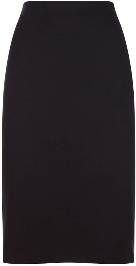 Armani Collezioni Stretch Pencil Skirt, Black, UK 14