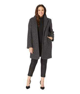 Andrew Marc Plus Size Paige - Pressed Boucle