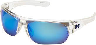 Under Armour Transparent Big Shot Wrap Around Sunglasses