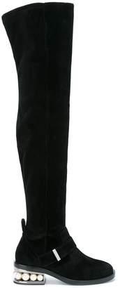 Nicholas Kirkwood Casati Pearl over-the-knee boots