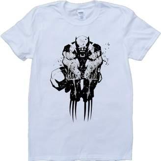 Wolverine Brain Dump Tees Short Sleeve Crew Neck Custom Made T-Shirt