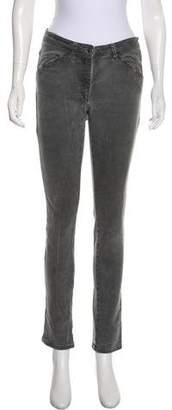 MM6 MAISON MARGIELA Mid-Rise Skinny Jeans