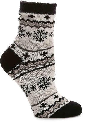 Sof Sole Snowflake Slipper Socks - Women's