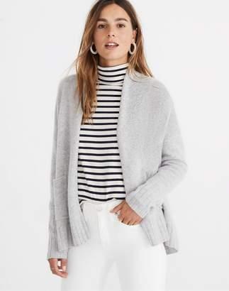 Madewell Cashmere Shawl-Collar Cardigan Sweater