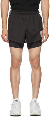 Satisfy Black Short Distance 8 inches Shorts