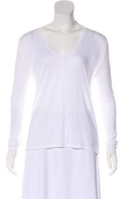J Brand Long Sleeve V-Neck Top