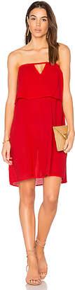 Bobi Gauze Off Shoulder Mini Dress