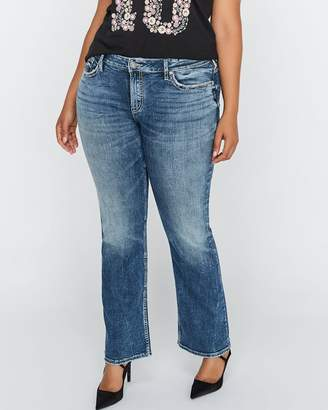 Slim Bootcut Light Wash Jeans - Silver Suki