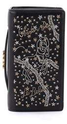 Christian Dior Pre-owned: Tarot Pouch Embroidered Leather.